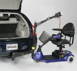 Bruno Scooter Lifts by Access Options Inc  Fremont